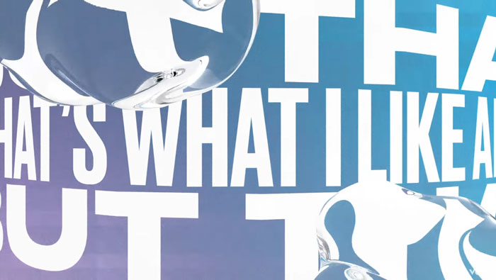 il lyric video di What I Like About You