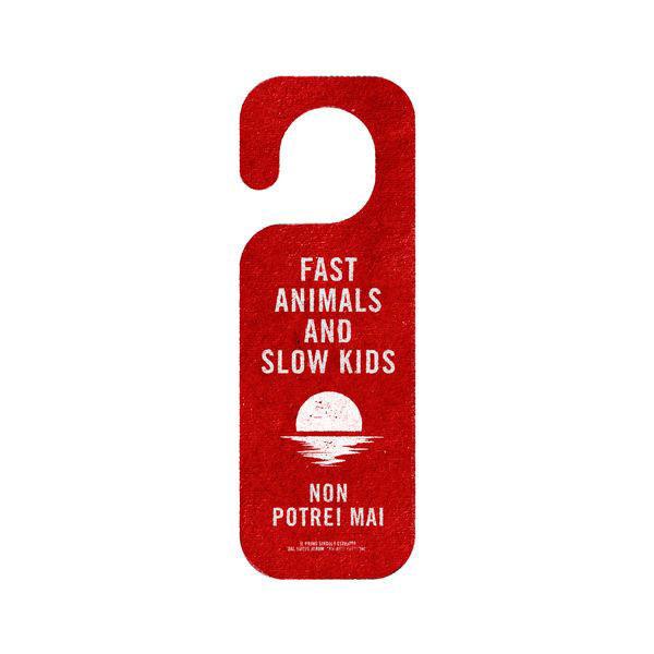 Fast Animals and Slow Kids Non potrei mai