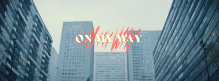 il video musicale di on my way
