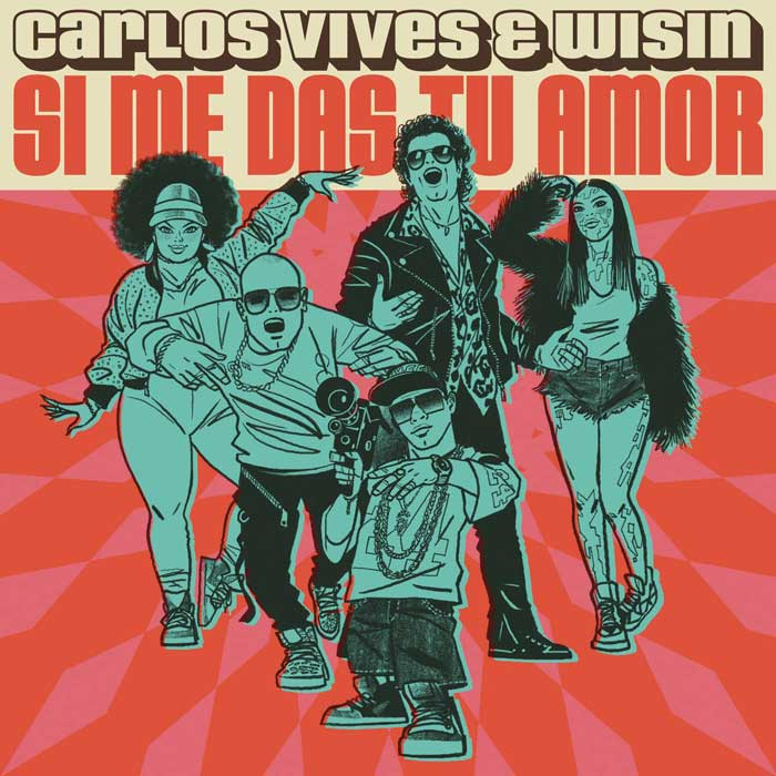 copertina brano Si Me Das Tu Amor