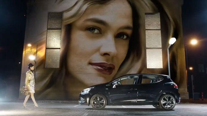 pubblicità Renault Clio Moschino 2019