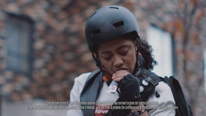 pubblicità special k 2019