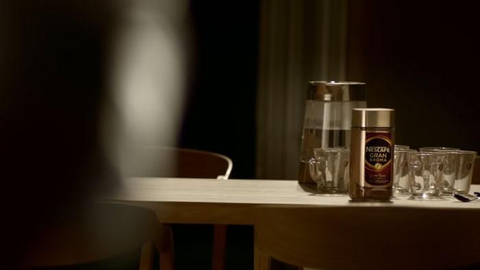 pubblicità Nescafè Gran Aroma 2019