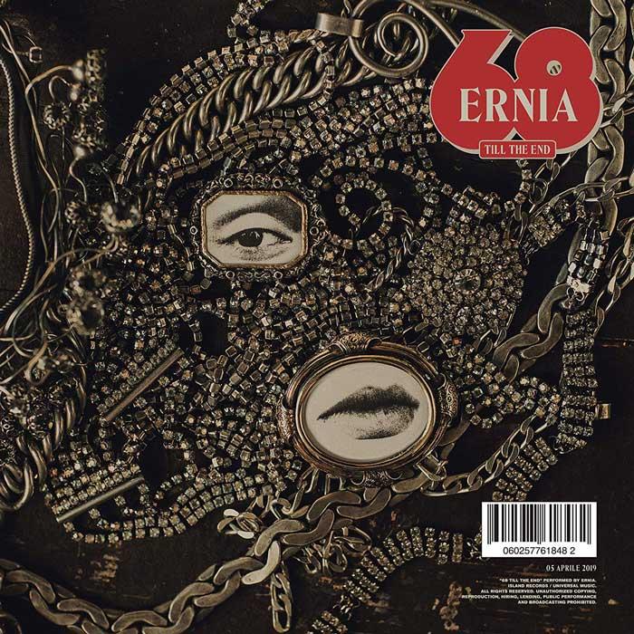 copertina album 68 till the end by ernia