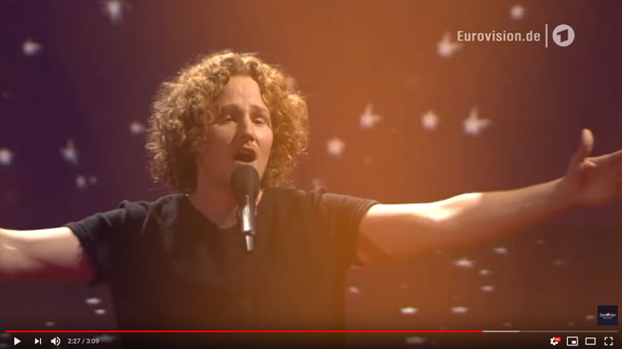 You Let Me Walk Alone all'Eurovision 2018