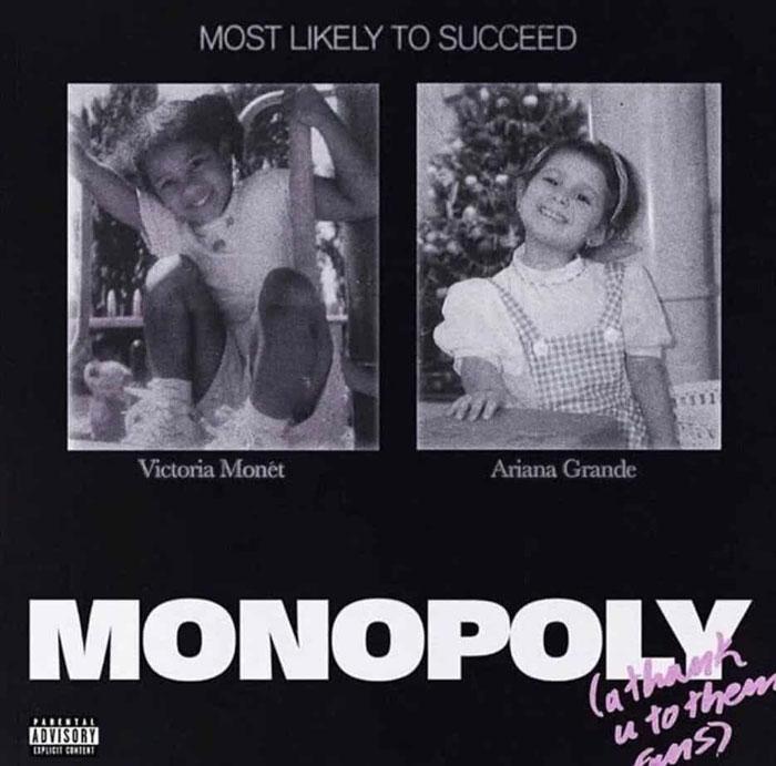Victoria Monét e Ariana Grande MONOPOLY