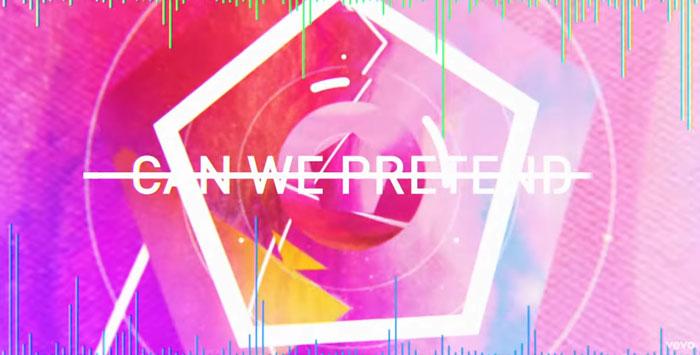 il lyric video di Can We Pretend