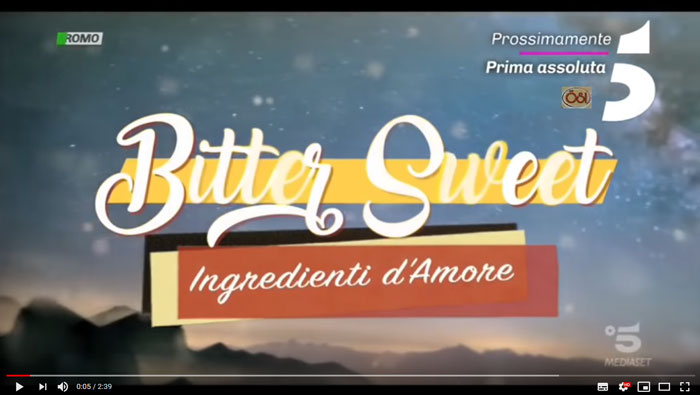 il video promozionale di Bitter Sweet Ingredienti d'amore
