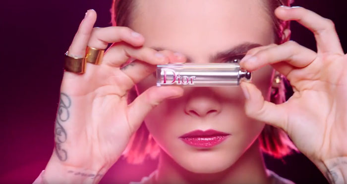 pubblicità Dior Addict 2019