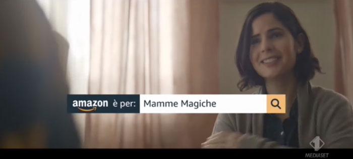 pubblicità amazon 2019 mamme magiche
