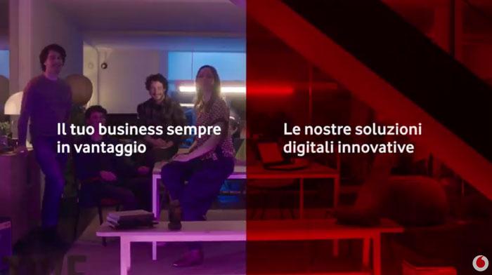 pubblicità vodafone business