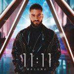maluma copertina album 11:11