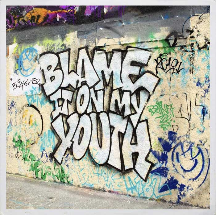 copertina canzone Blame It On My Youth
