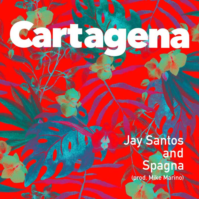 copertina canzone cartagena