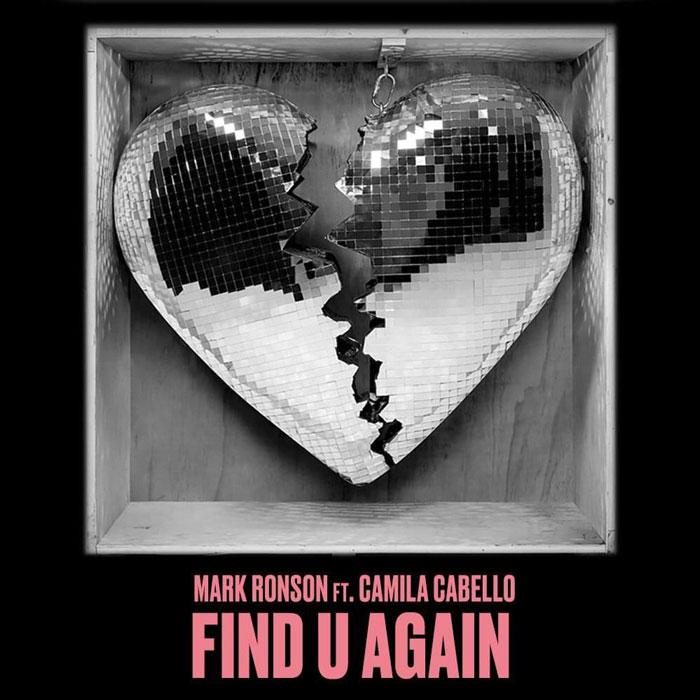 copertina brano find u again by ronson