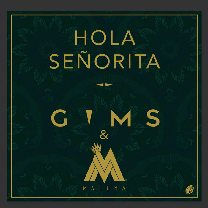 copertina canzone hola senorita maluma gims