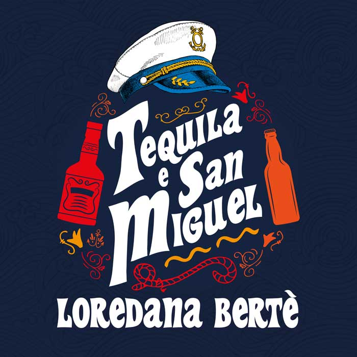copertina singolo Tequila e San Miguel loredana bertè