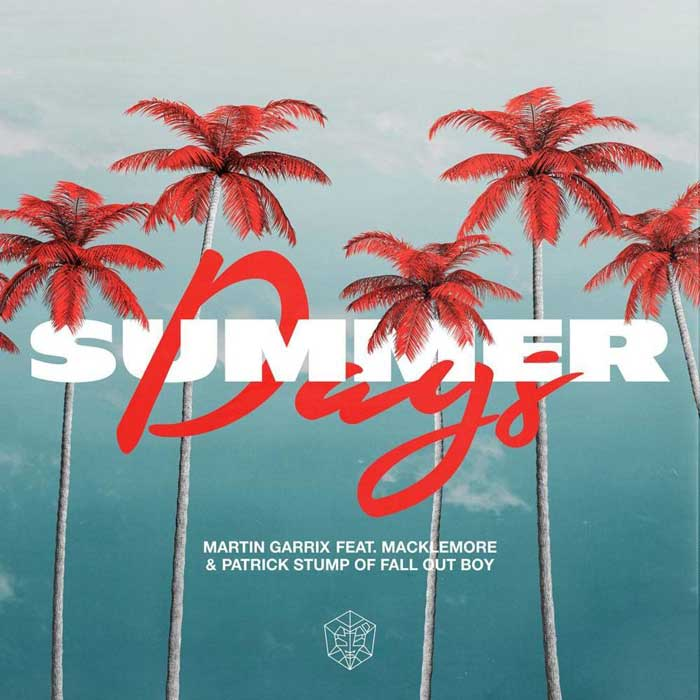 copertina del singolo summer days