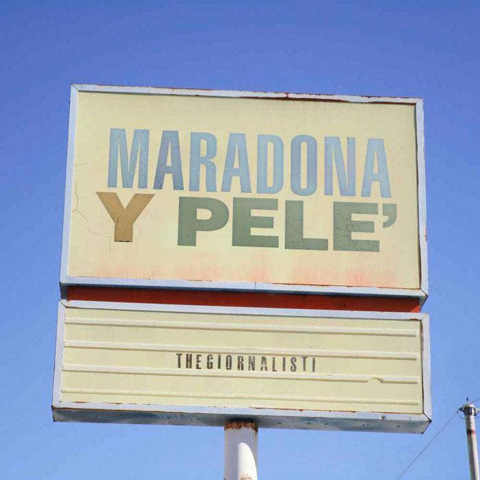 copertina brano maradona y pelé