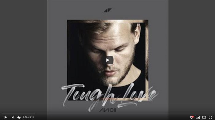 avicii Tough Love copertina