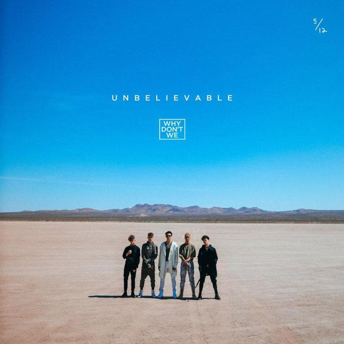 copertina brano Unbelievable wdw