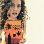 Lana del Rey copertina canzone doin time