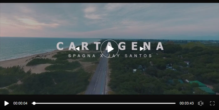 frame del video di cartagena