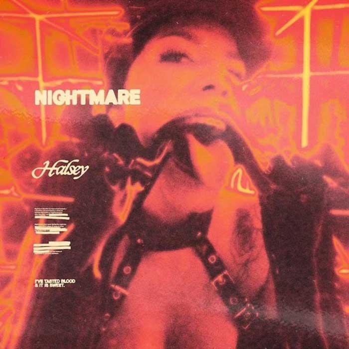 halsey copertina canzone nightmare