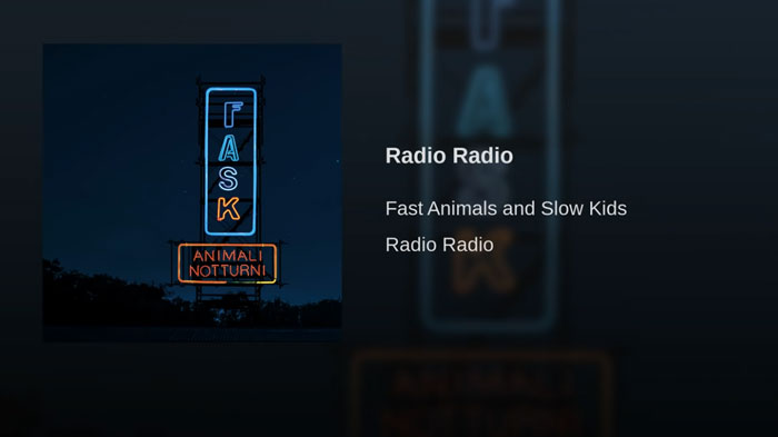 Fast Animals and Slow Kids radio radio
