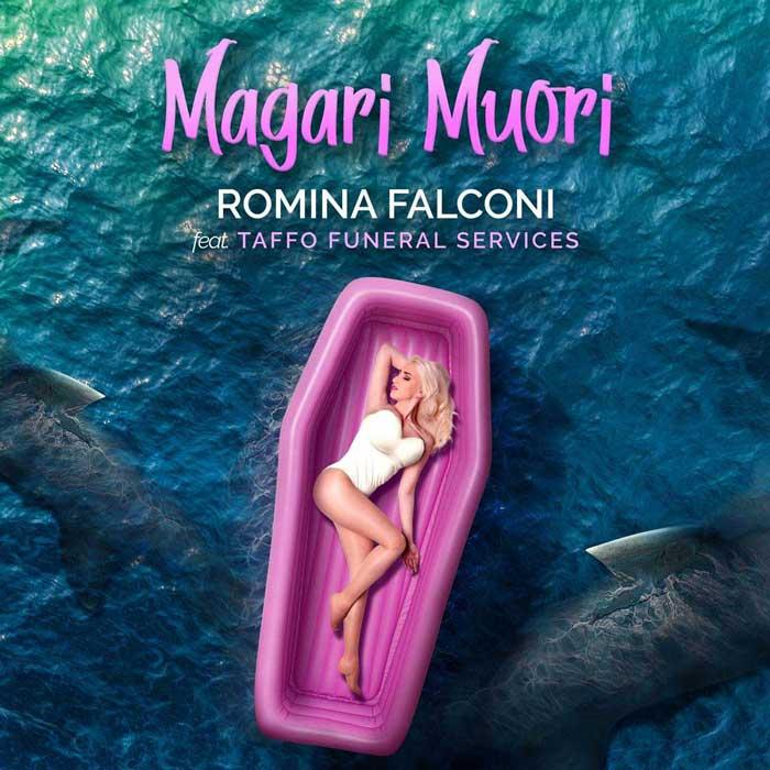 copertina canzone magari muori taffo romina