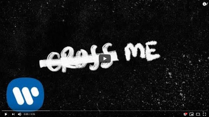 guarda il lyric video di cross me by ed sheeran