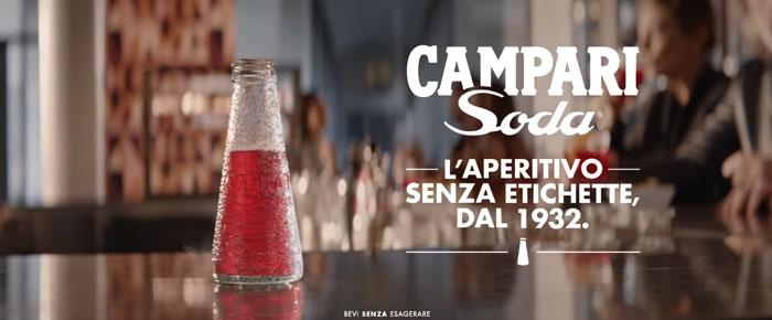 pubblicità campari soda 2019