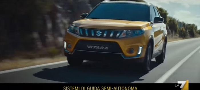 pubblicità Suzuki Vitara 2019