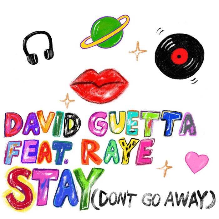 Stay Don't Go Away copertina
