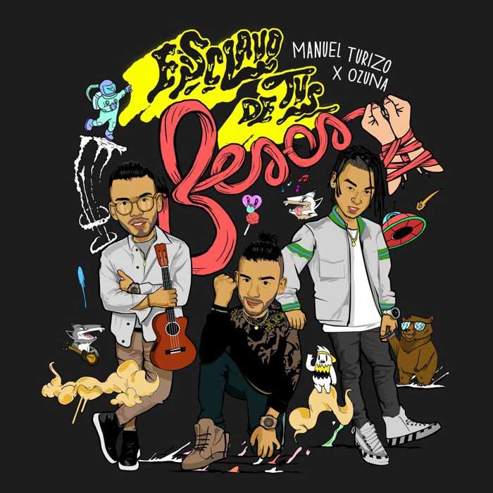 copertina canzone Esclavo De Tus Besos ozuna