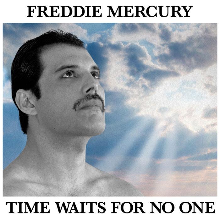copertina brano Time Waits For No One Freddie Mercury