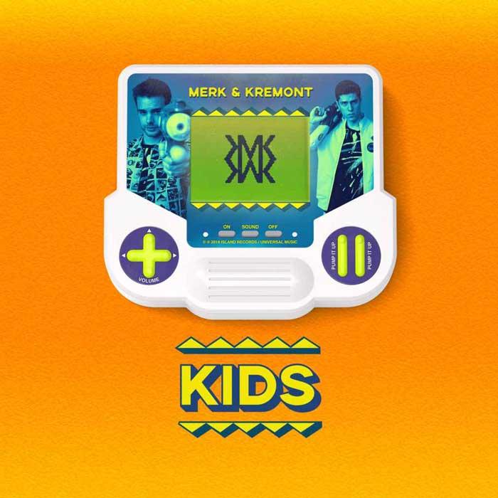 copertina canzone kids merk e kremont