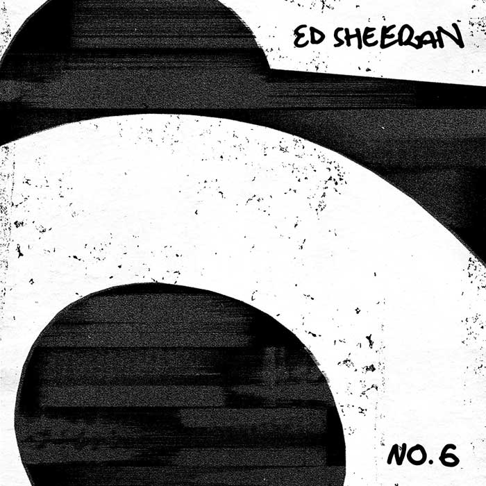 copertina album sheeran No.6 Collaborations Project
