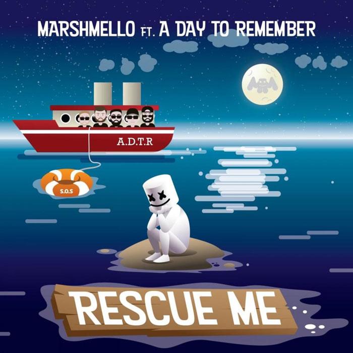 copertina brano rescue me