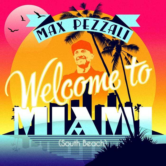 copertina canzone pezzali Welcome to Miami