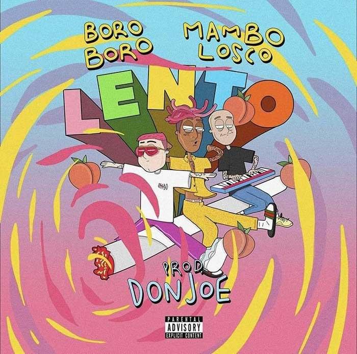copertina canzone lento boroboro