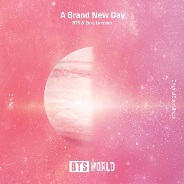 copertina brano bts a brand new day