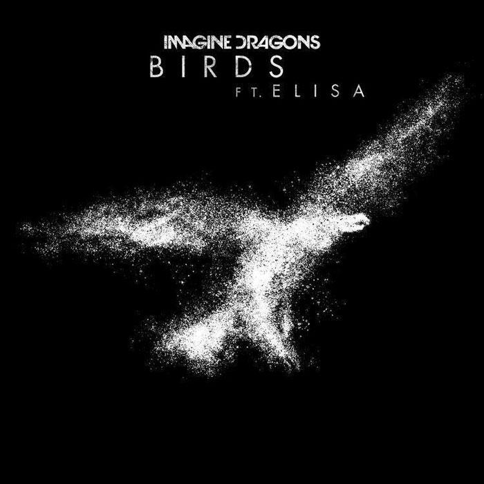 copertina canzone birds imagine dragons elisa