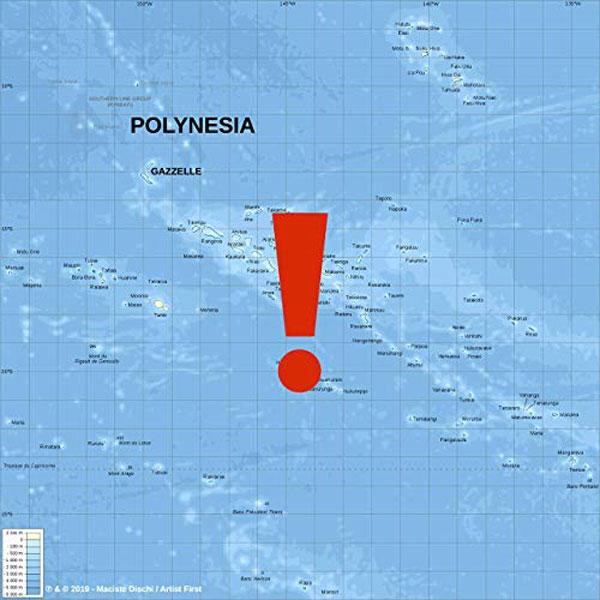 copertina canzone polynesia gazzelle