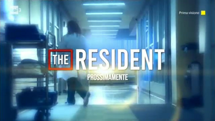 video promozionale the resident