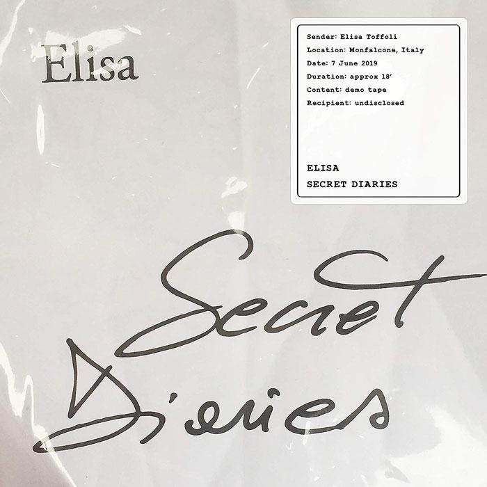copertina ep elisa secret diaries