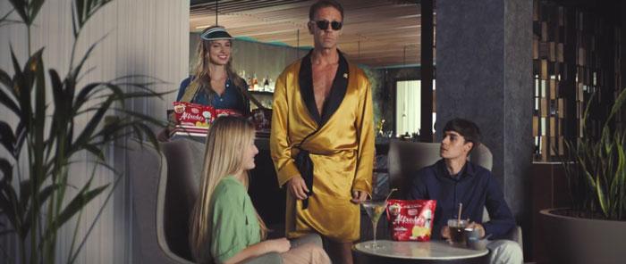 pubblicità amica chips 2019 con rocco siffredi