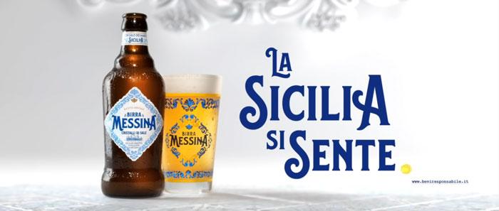 pubblicità Birra Messina Cristalli di Sale 2019