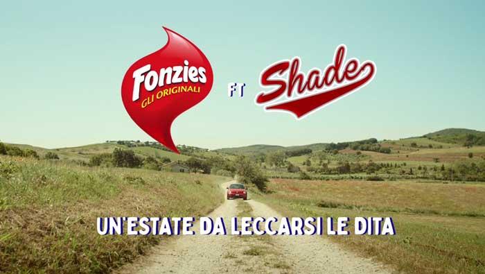 pubblicità fonzies 2019 con shade
