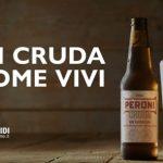 pubblicità peroni cruda 2019